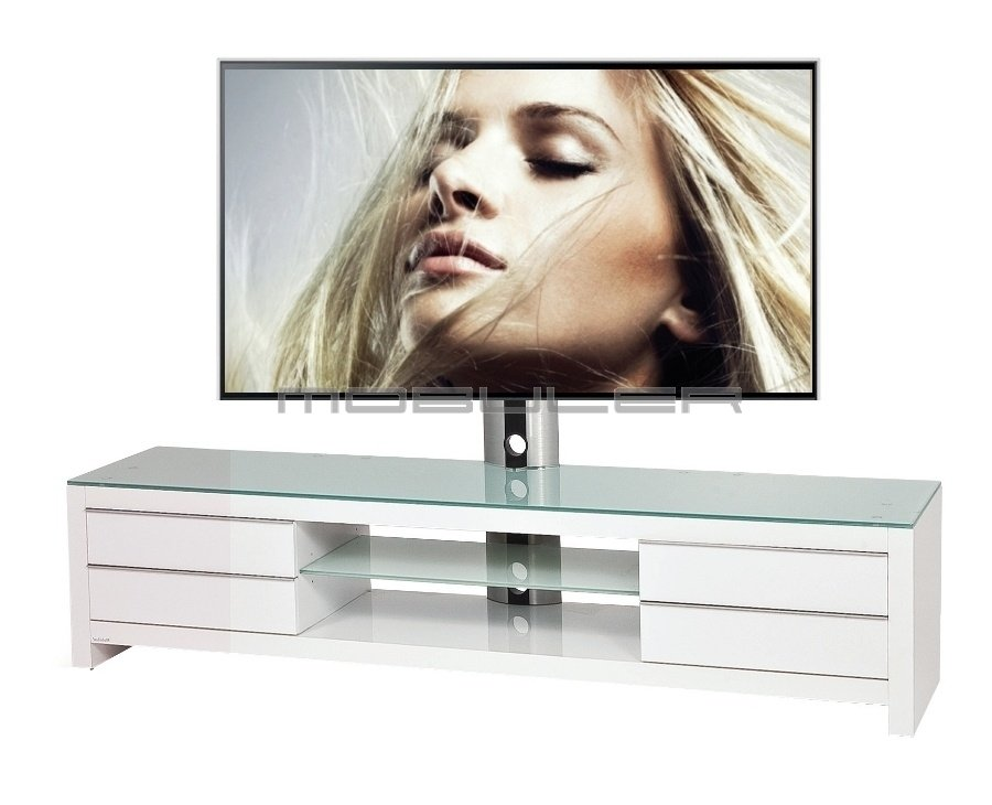 Meuble Tv Living: Living meuble tv contemporain ch?ne massif oak ...