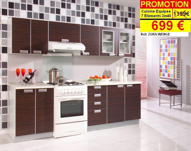 Cuisines meuble for Model de cuisine simple