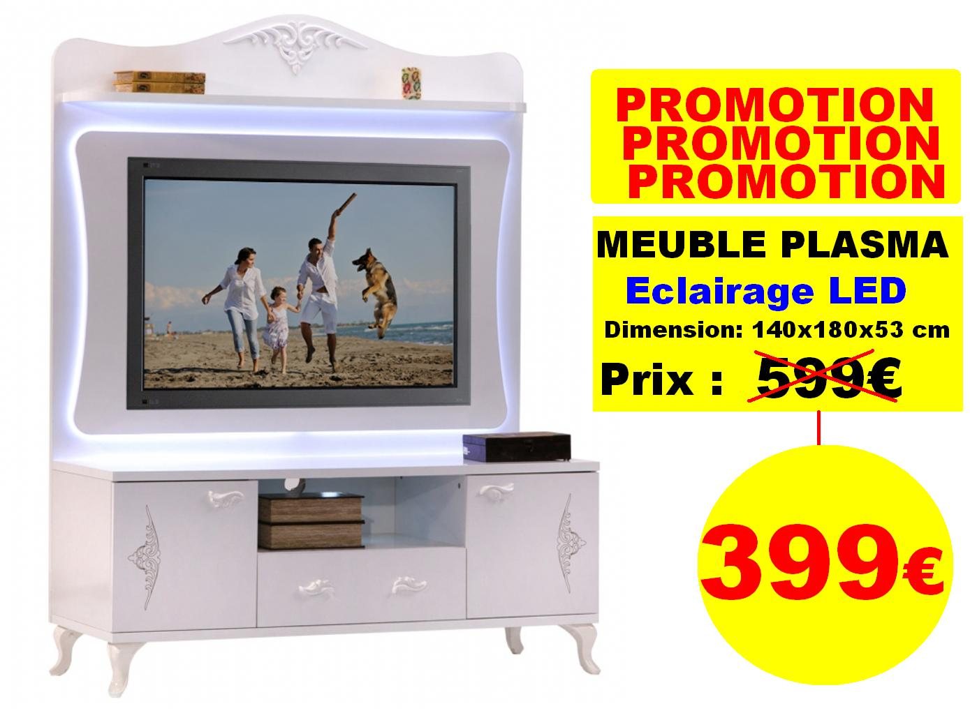 Meuble Tv Living Dekora # Promotion Meuble Tv